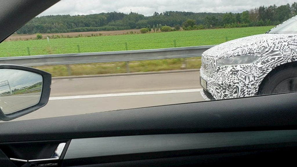 Skoda Enyaq Coupe iV spy shot