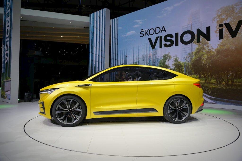 Skoda Vision iV concept profile side