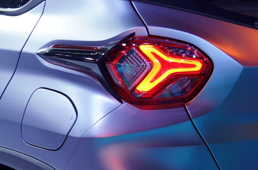 Tata HBX Concept taillamp