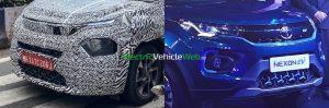 Tata HBX Tata Nexon EV grille