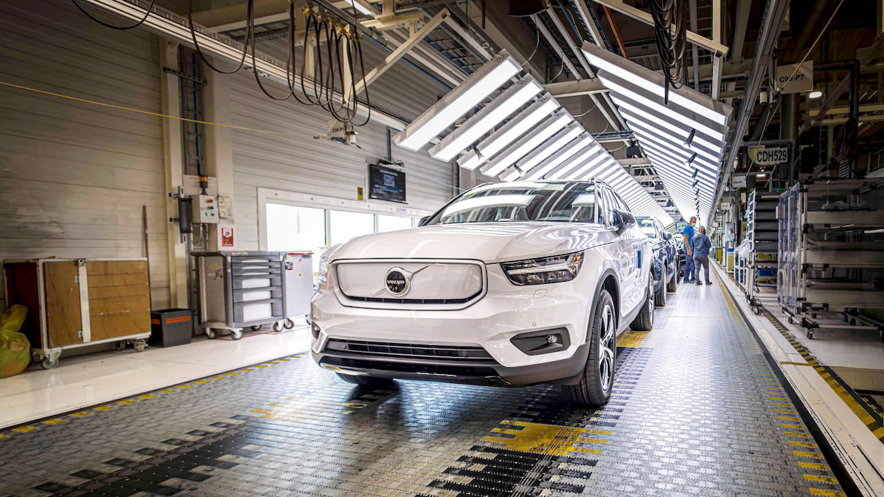 Volvo XC40 Recharge production start