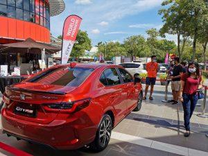2021 Honda City Hybrid eHEV rear quarters