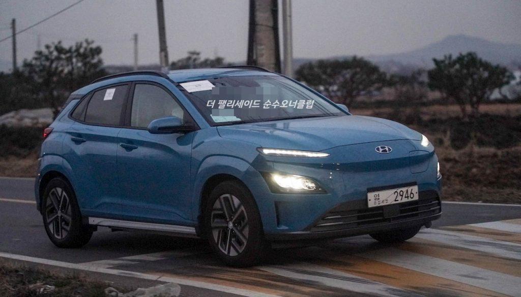 2021 Hyundai Kona EV live image