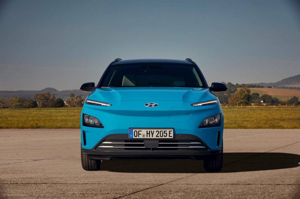 2021 Hyundai Kona Electric facelift front