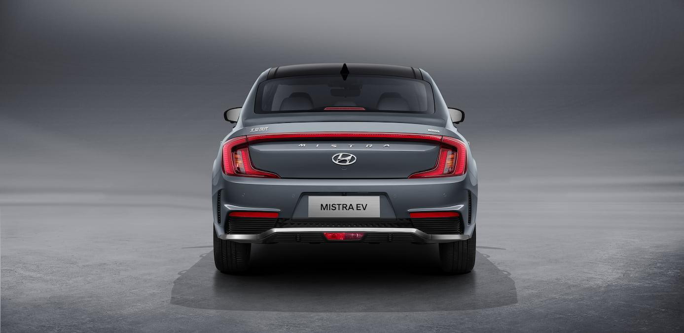 2021 Hyundai Mistra EV rear