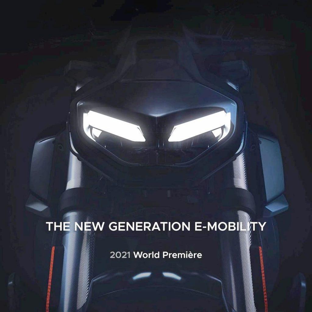 2021 Super Soco electric bike teaser