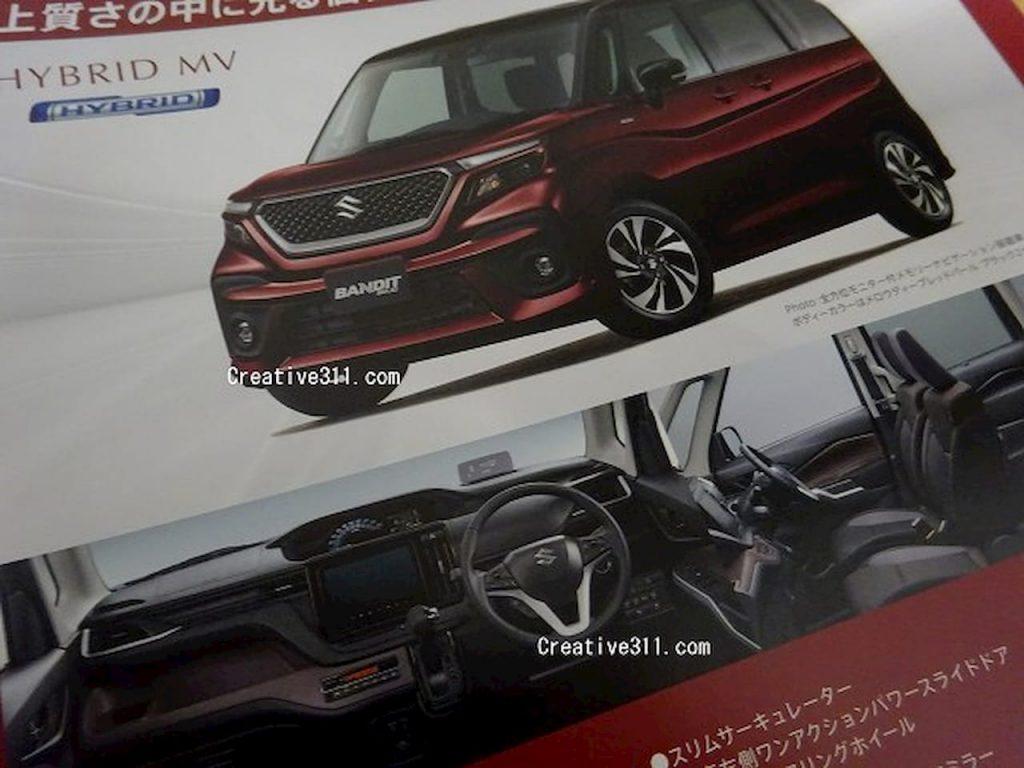 2021 Suzuki Bandit front quarters interior