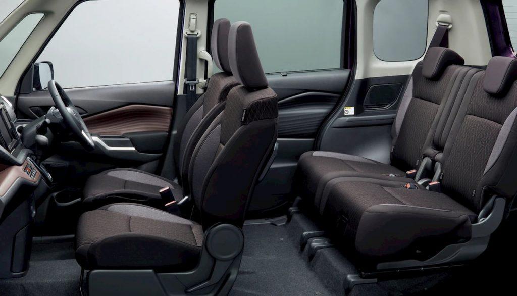 2021 Suzuki Solio Bandit cabin seats
