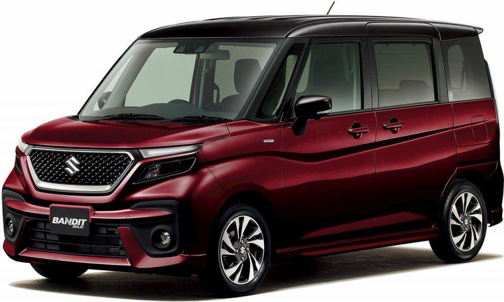 2021 Suzuki Solio Bandit front quarters
