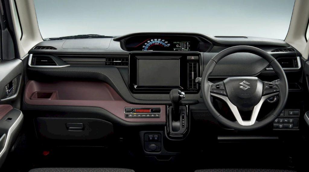 2021 Suzuki Solio Bandit interior dashboard