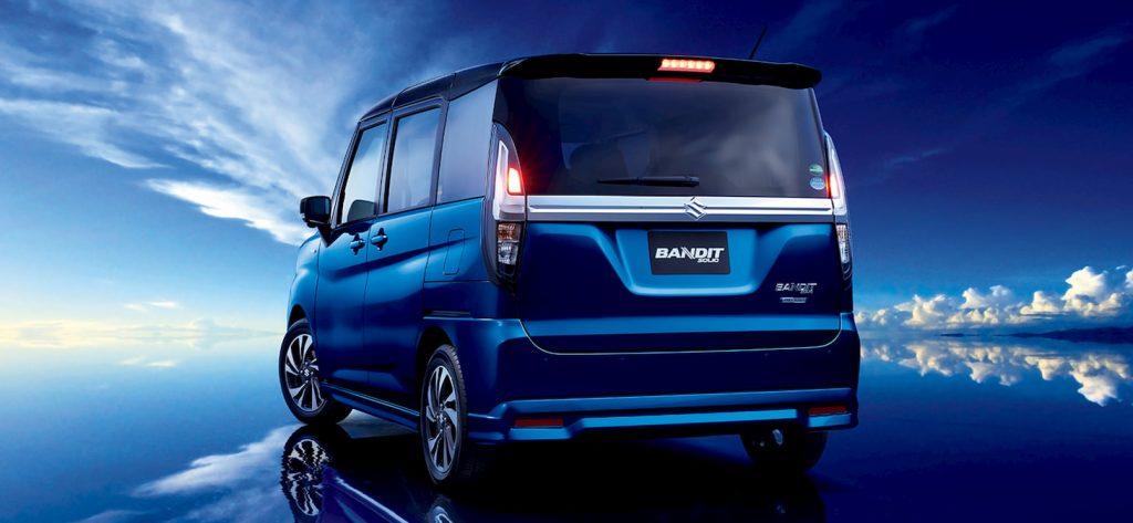 2021 Suzuki Solio Bandit rear quarters