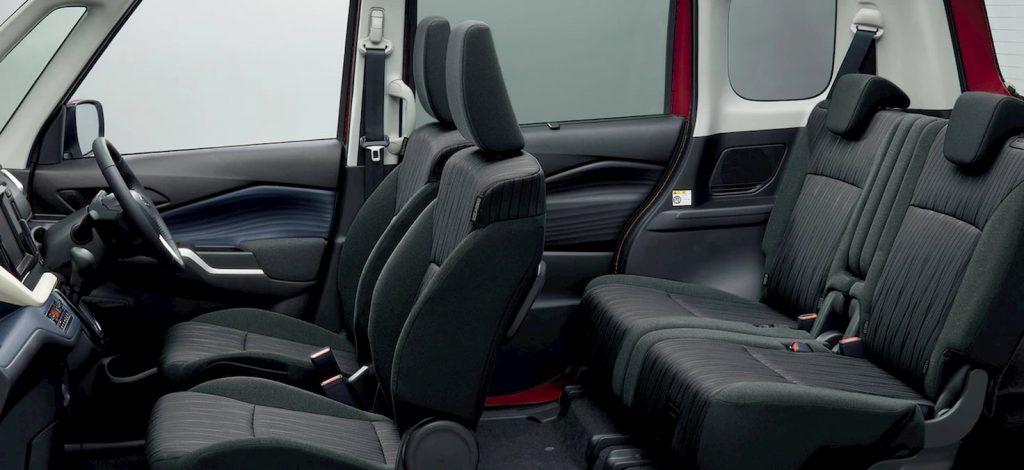 2021 Suzuki Solio cabin seats