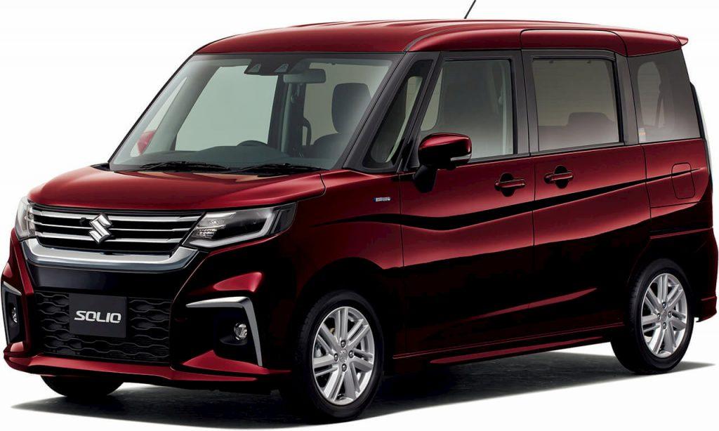 2021 Suzuki Solio front quarters