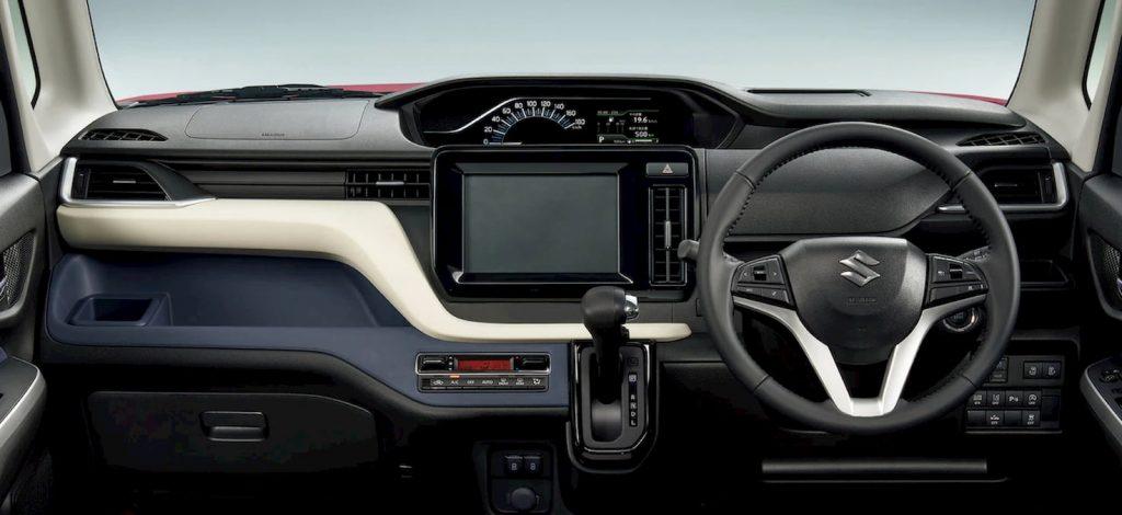 2021 Suzuki Solio interior dashboard
