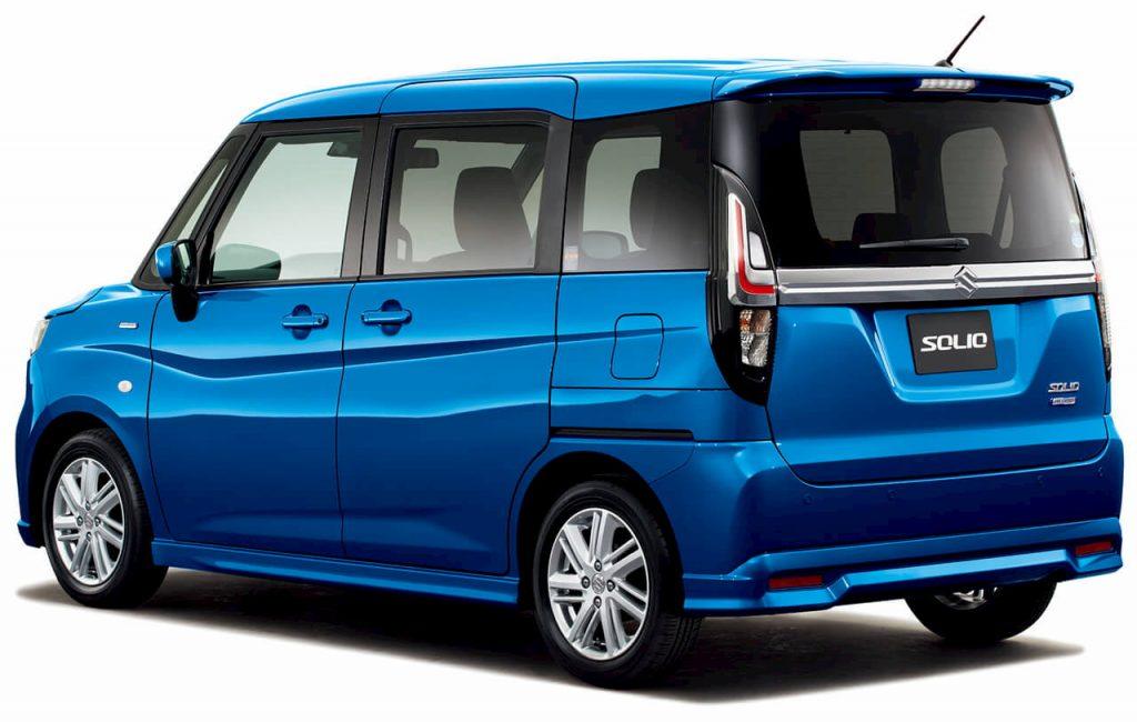 2021 Suzuki Solio rear quarters