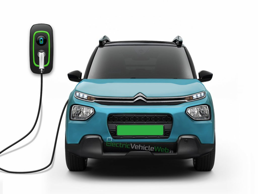 Citroen electric car eCC21 codename