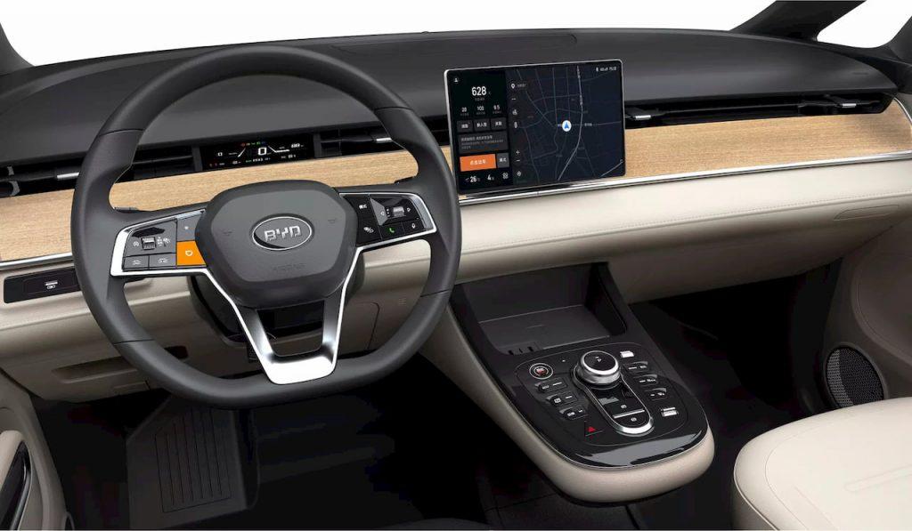 DiDi BYD D1 interior dashboard