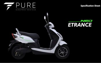 Pure Etrance Neo high-speed electric scooter launched