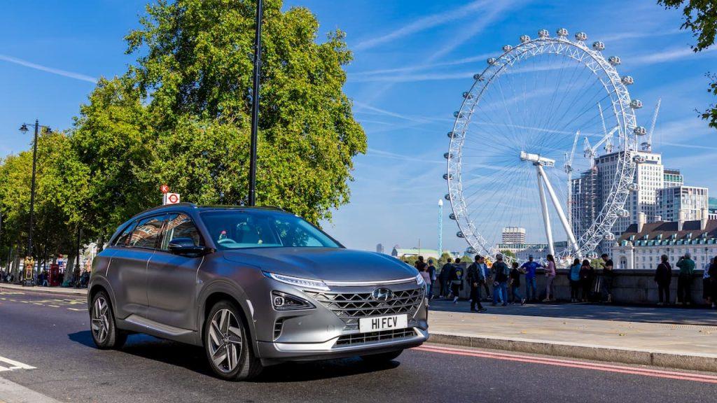 Hyundai Nexo front quarters London