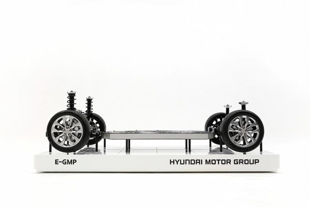 Hyundai electric car platform