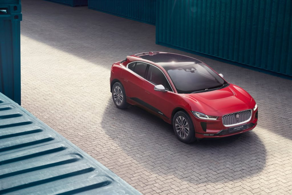 Jaguar I-PACE Top roof India Firenze Red