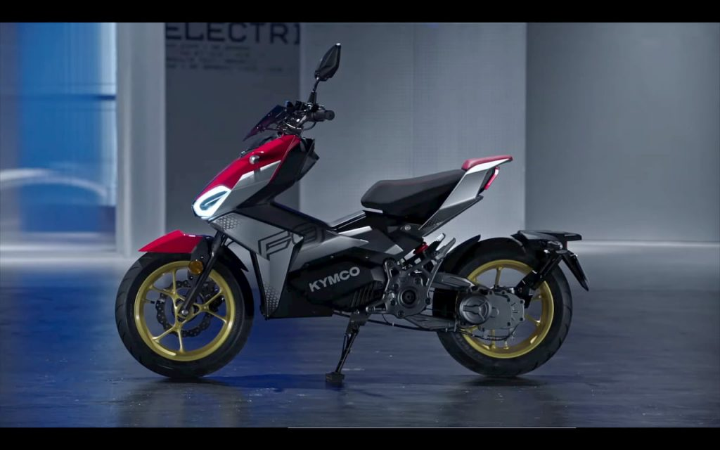KYMCO K9 electric motorcycle