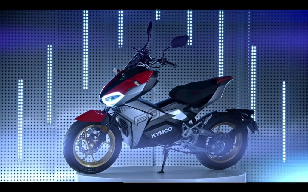 KYMCO K9 electric motorcycle 2021