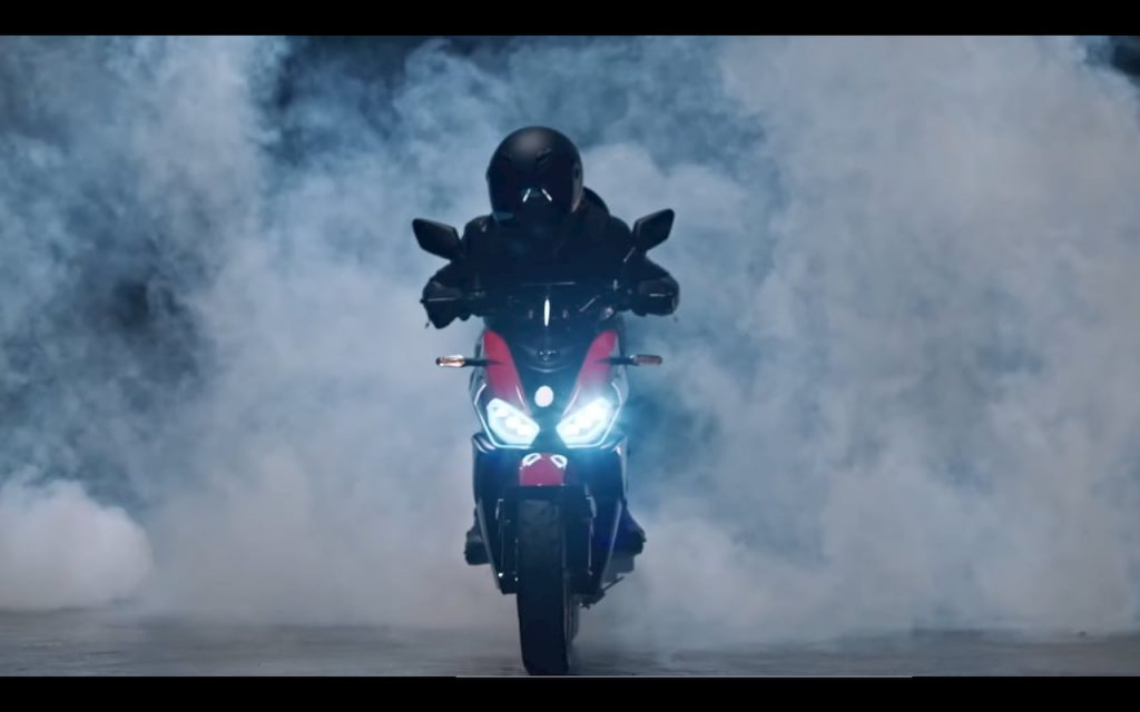 KYMCO K9 electric motorcycle front