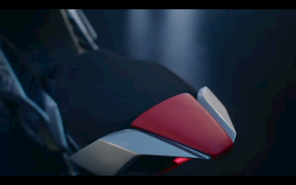 KYMCO K9 electric motorcycle tail