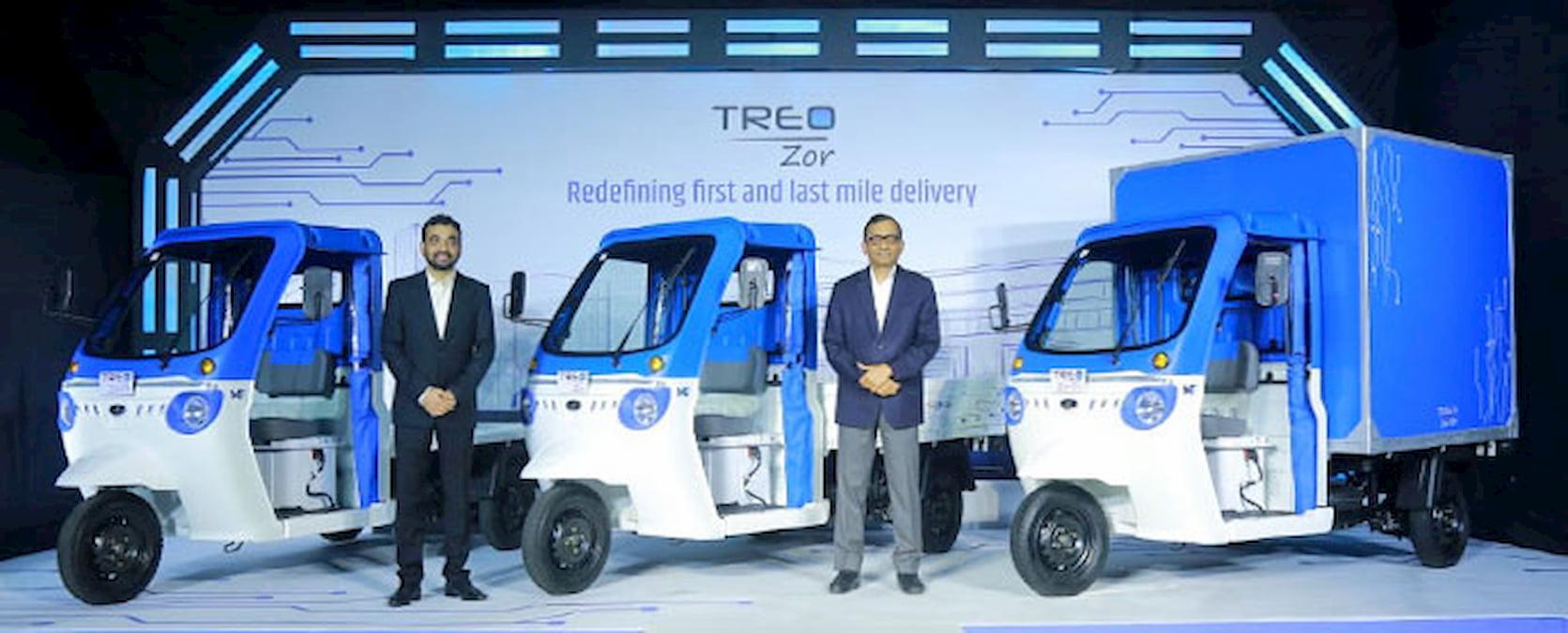 Mahindra Treo Zor launch