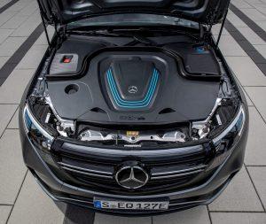 Mercedes EQC powertrain cover