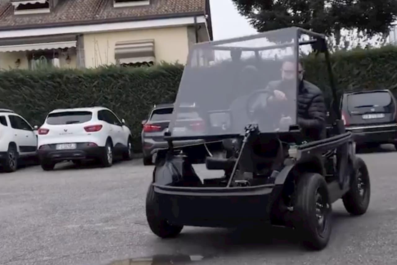 Microlino 2.0 prototype vehicle testing