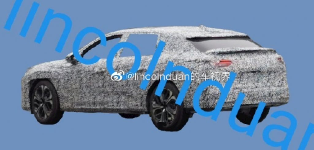 Next-gen Citroen C5 2021 rear quarters spy shot