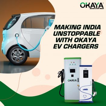 Okaya Power installs more than 500 EV chargers in India
