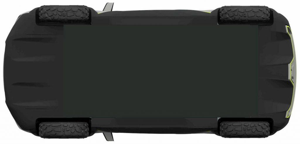 Renault Kiger concept floor patent image