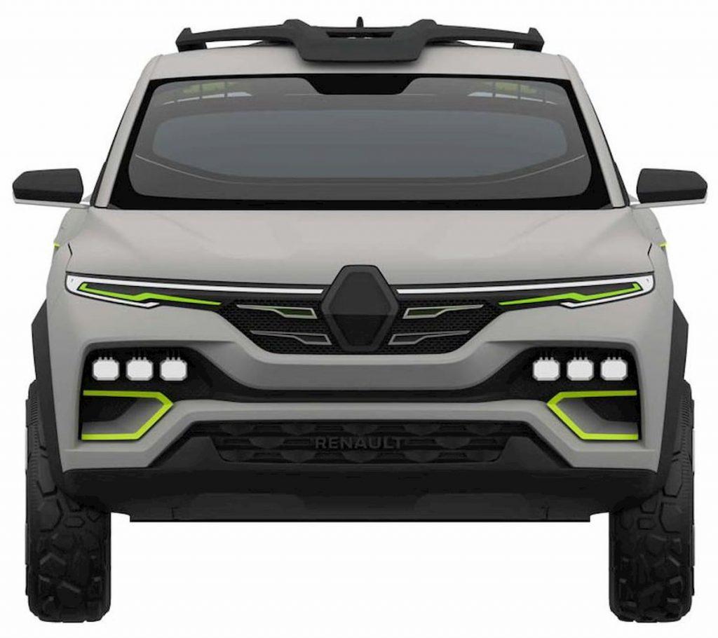 Renault Kiger concept front patent image
