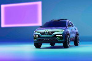 Renault Kiger concept front quarters