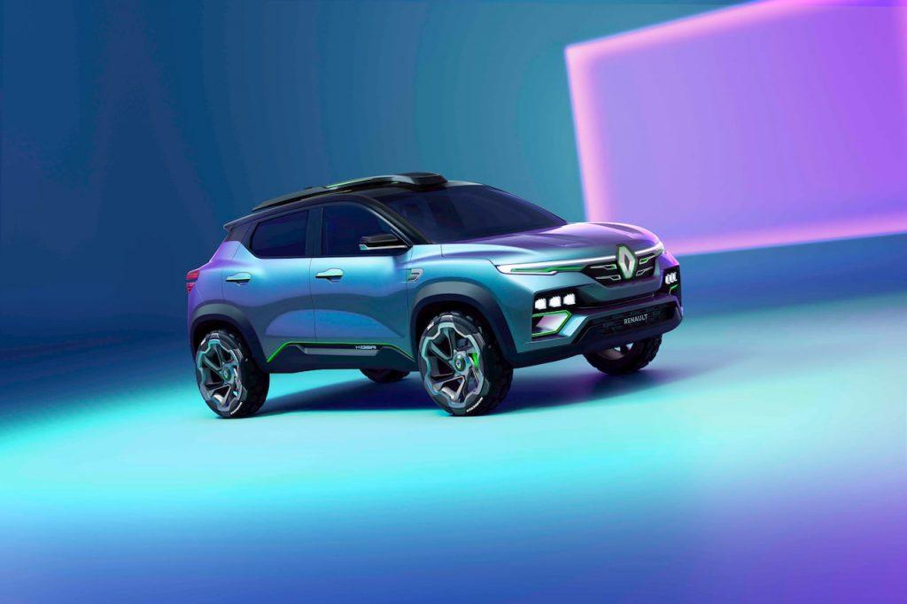 Renault Kiger concept front quarters right side