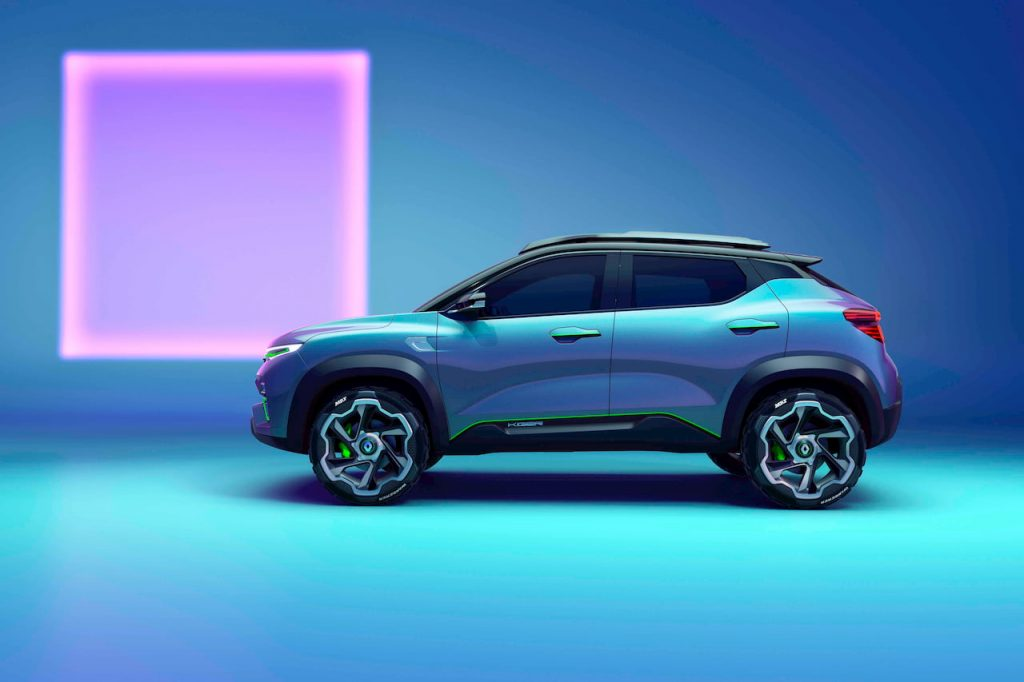 Renault Kiger concept profile side