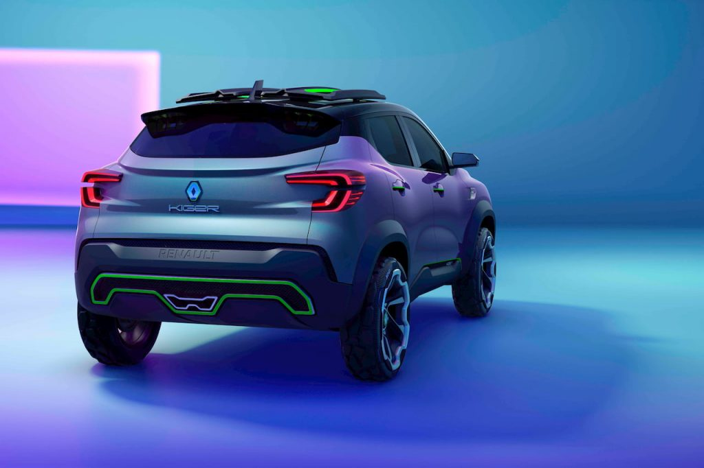 Renault Kiger concept rear quarters