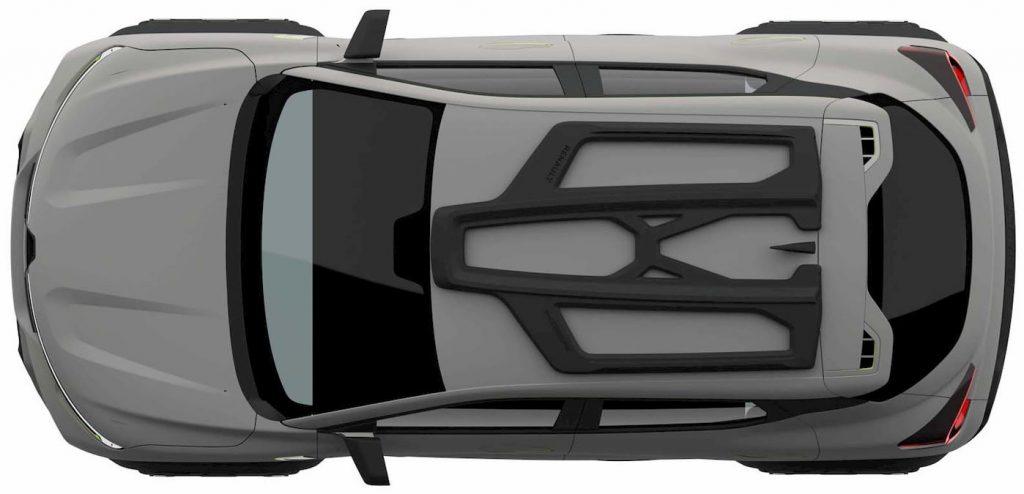 Renault Kiger concept roof patent image