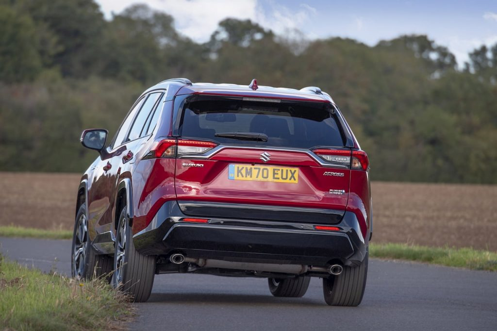 Suzuki ACross PHEV rear review
