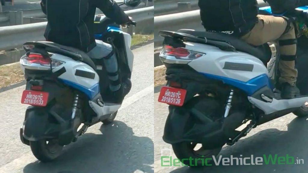 Suzuki Burgman EV scooter