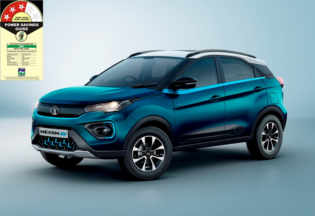 Tata Nexon EV BEE star rating