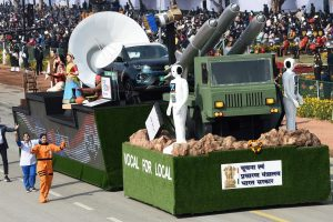Tata Nexon EV Republic Day parade 2021