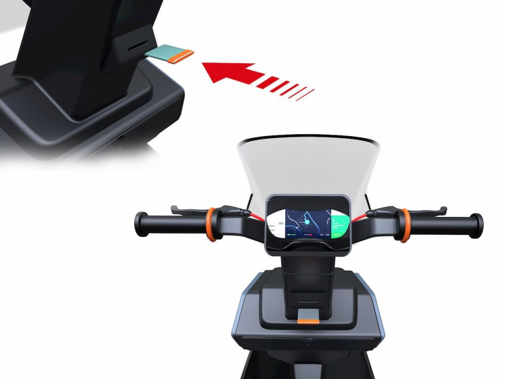 XScoot electric scooter TFT by Rugved Patil
