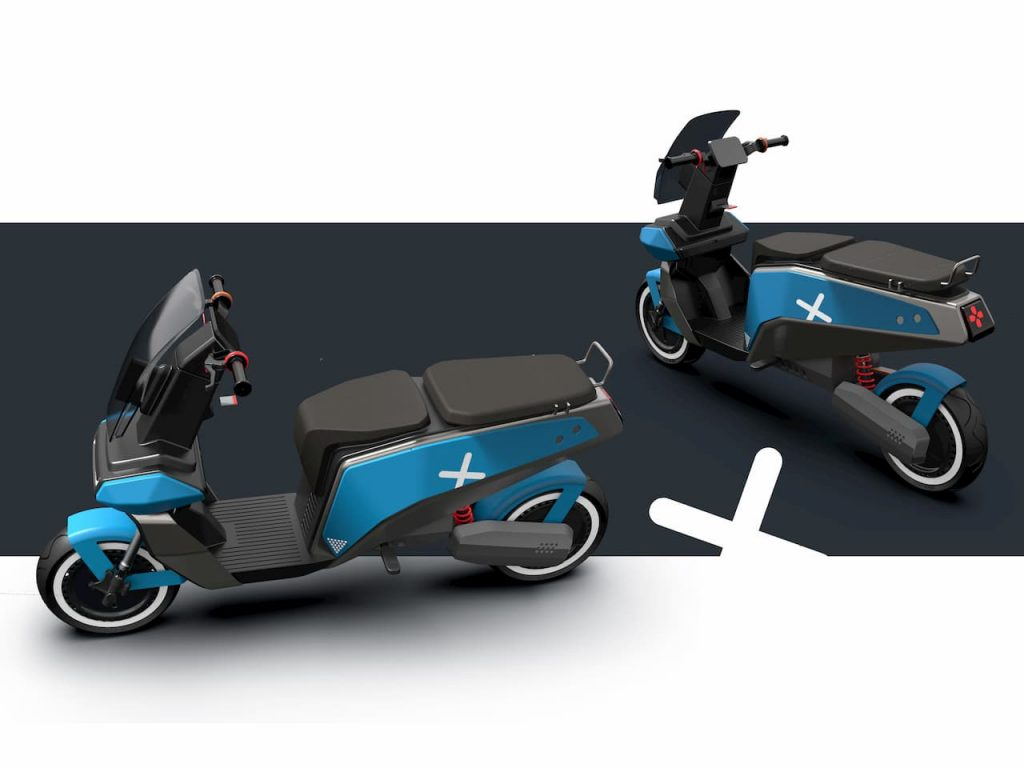 XScoot electric scooter concept