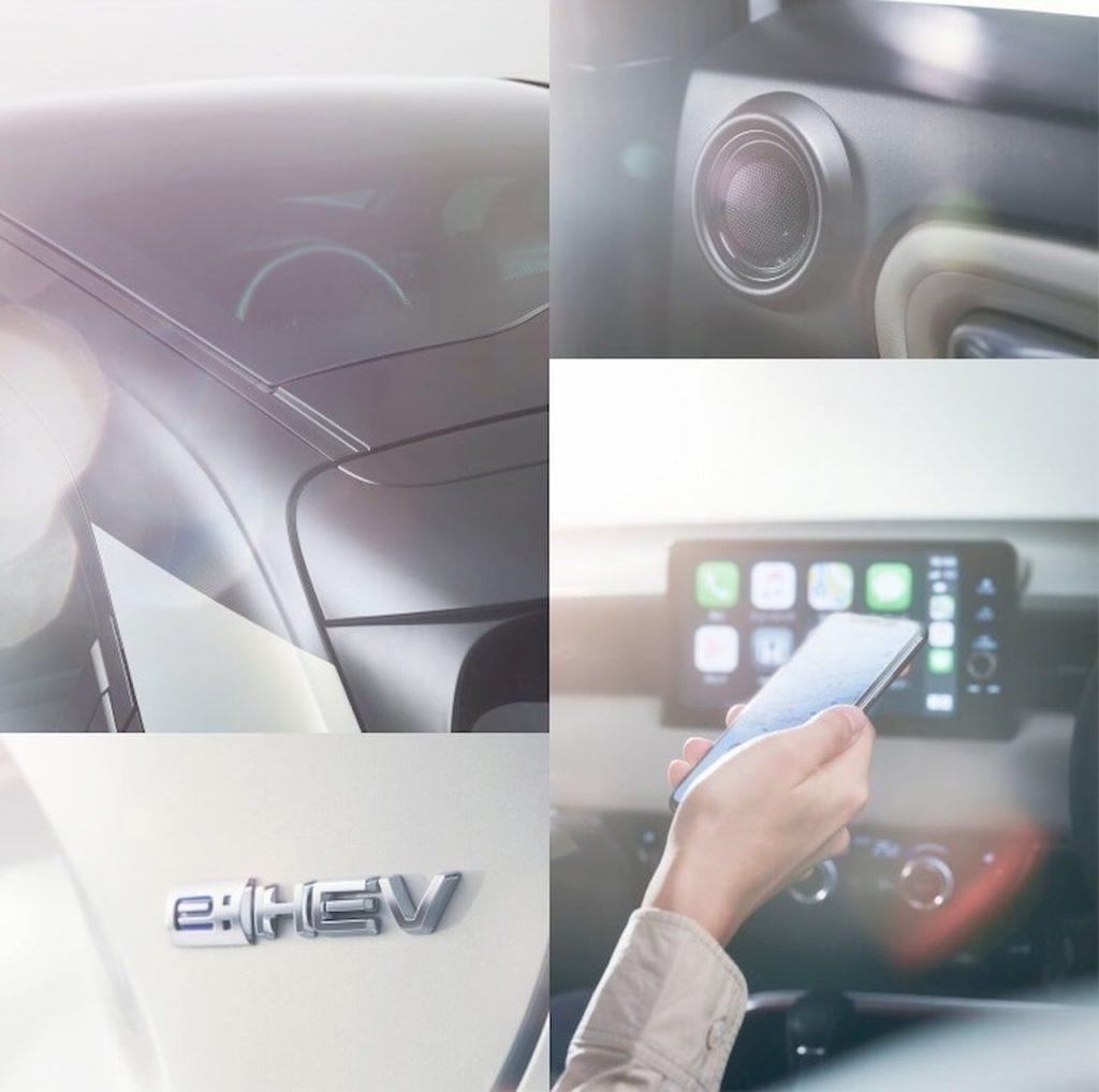 2021 Honda HR-V teasers interior exterior