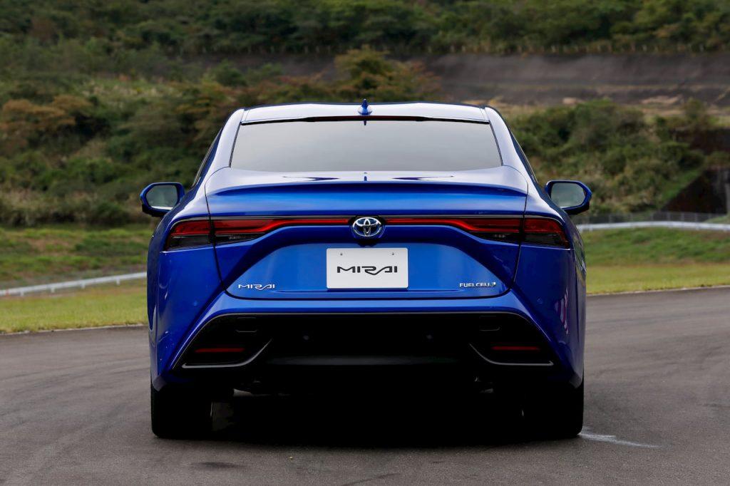 2021 Toyota Mirai rear drive
