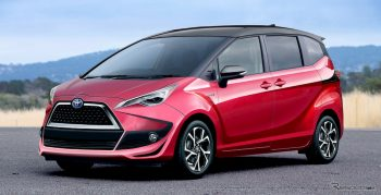 Funky to Furious? 2022 Toyota Sienta to get new looks & tech [Update]